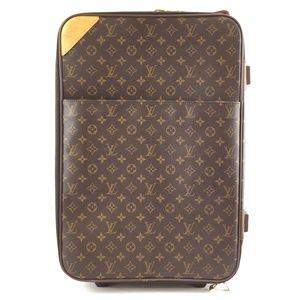 Pegase 55 Roller Luggage Canvas Travel Bag